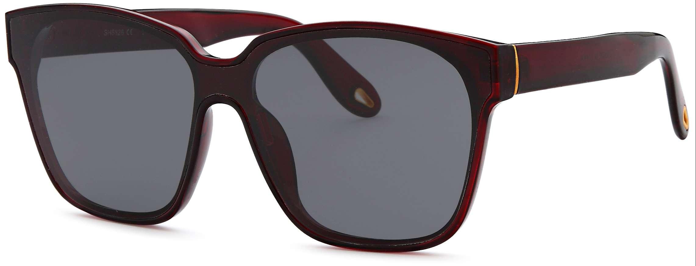Maroon sunglasses